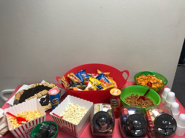Parents donated treats for teachers for testing day